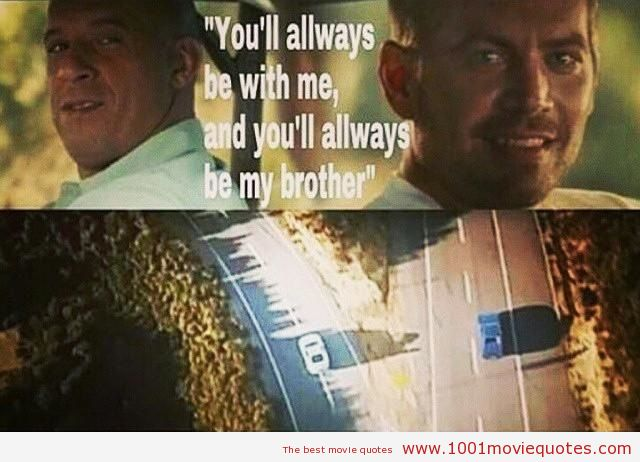 Furious 7 Love Quotes. QuotesGram