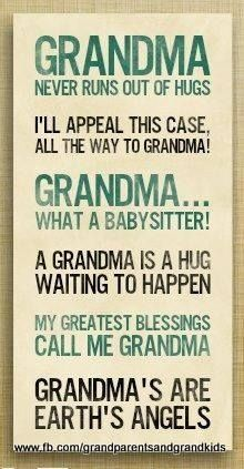 Cute Grandma Quotes And Sayings. QuotesGram