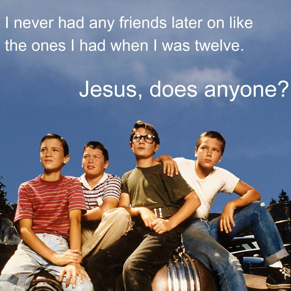 review of movie stand by me Free essay: review of movie stand by me stand by me is a movie based on a novel by stephen king it tells the story of four preteens, who during a boring.