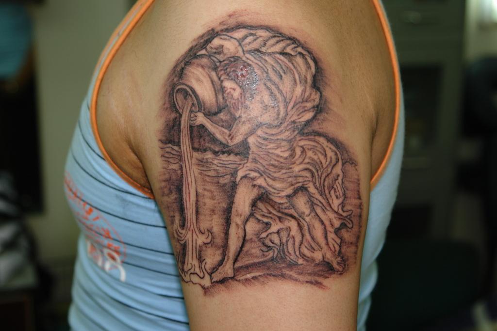 Aquarius Tattoos Quotes. QuotesGram