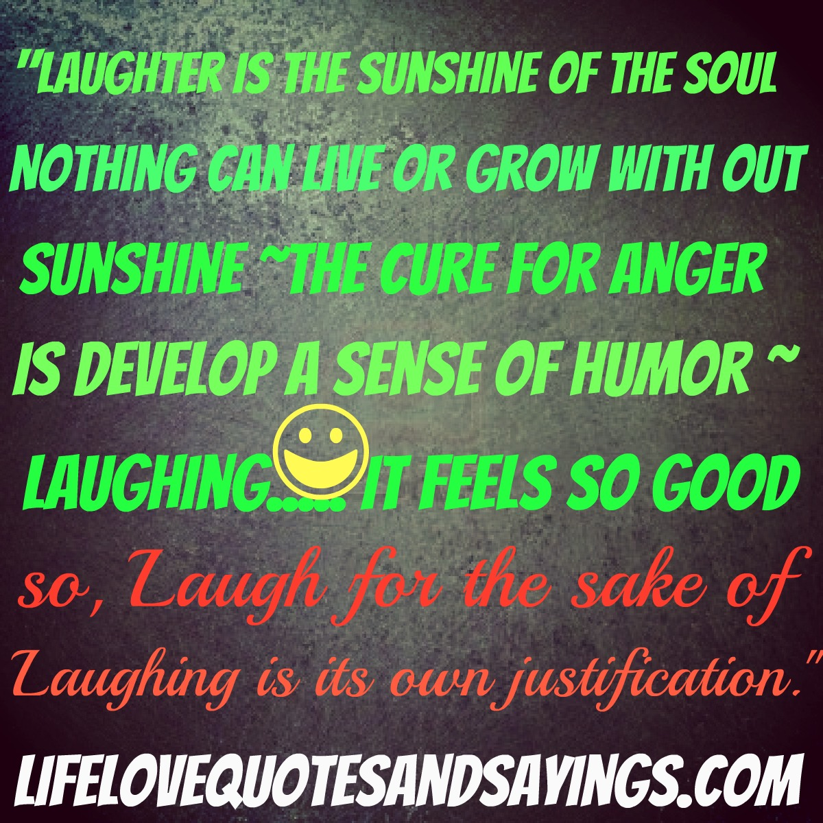 Humor Inspirational Quotes: Sunshine And Laughter Quotes. QuotesGram