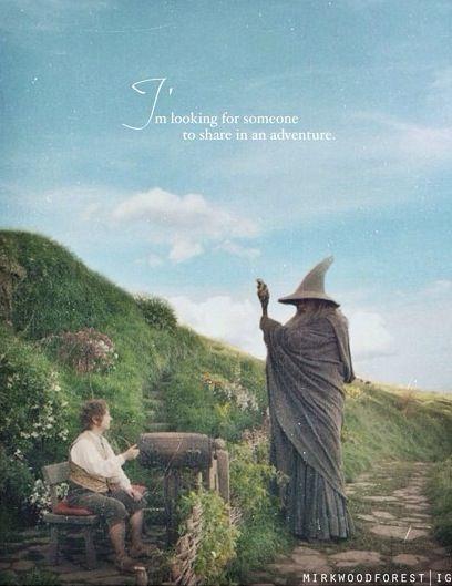 Good Morning Hobbit Quote: Quotes About Adventure Hobbit. QuotesGram