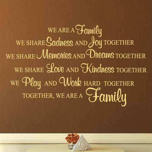 Family We Choose Quotes: We Are Like Family Quotes. QuotesGram