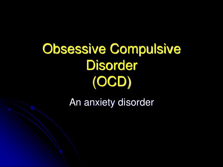 obsession a persistent disturbing preoccupation essay