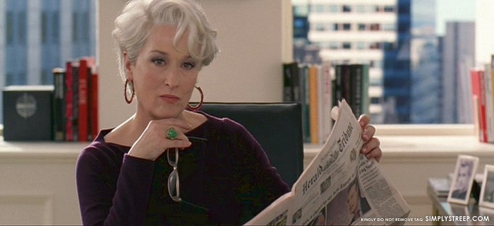 Meryl Davis Quotes Quotesgram: Meryl Streep Devil Wears Prada Quotes. QuotesGram