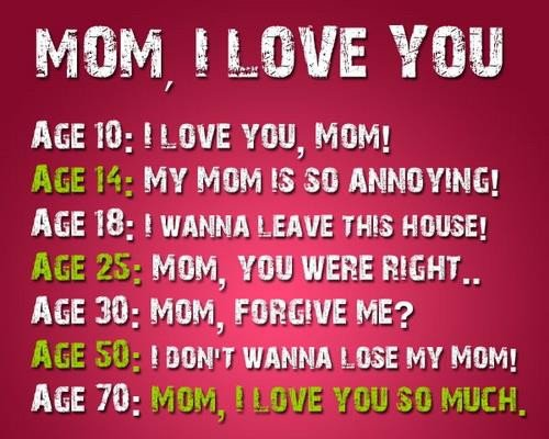 I Love You Quotes: I Love You Mom Quotes From Daughter. QuotesGram