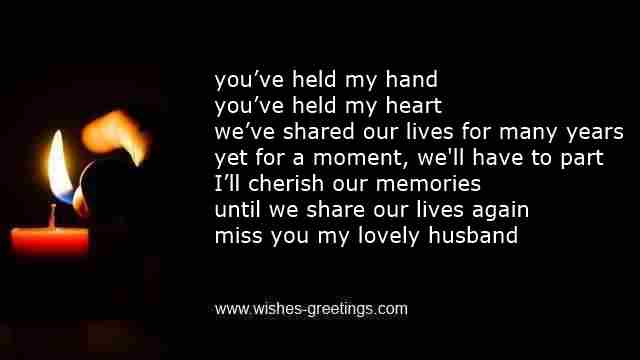 grieving quotes for a husband quotesgram