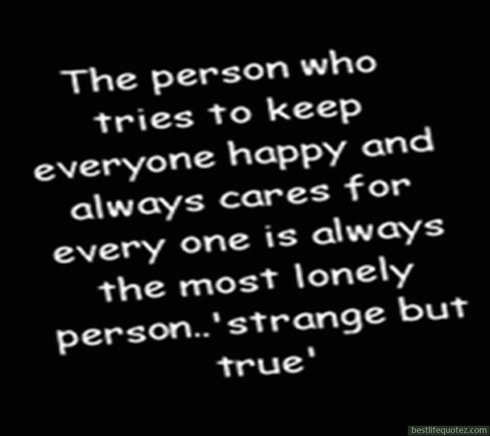 Happy Lonely Quotes. QuotesGram