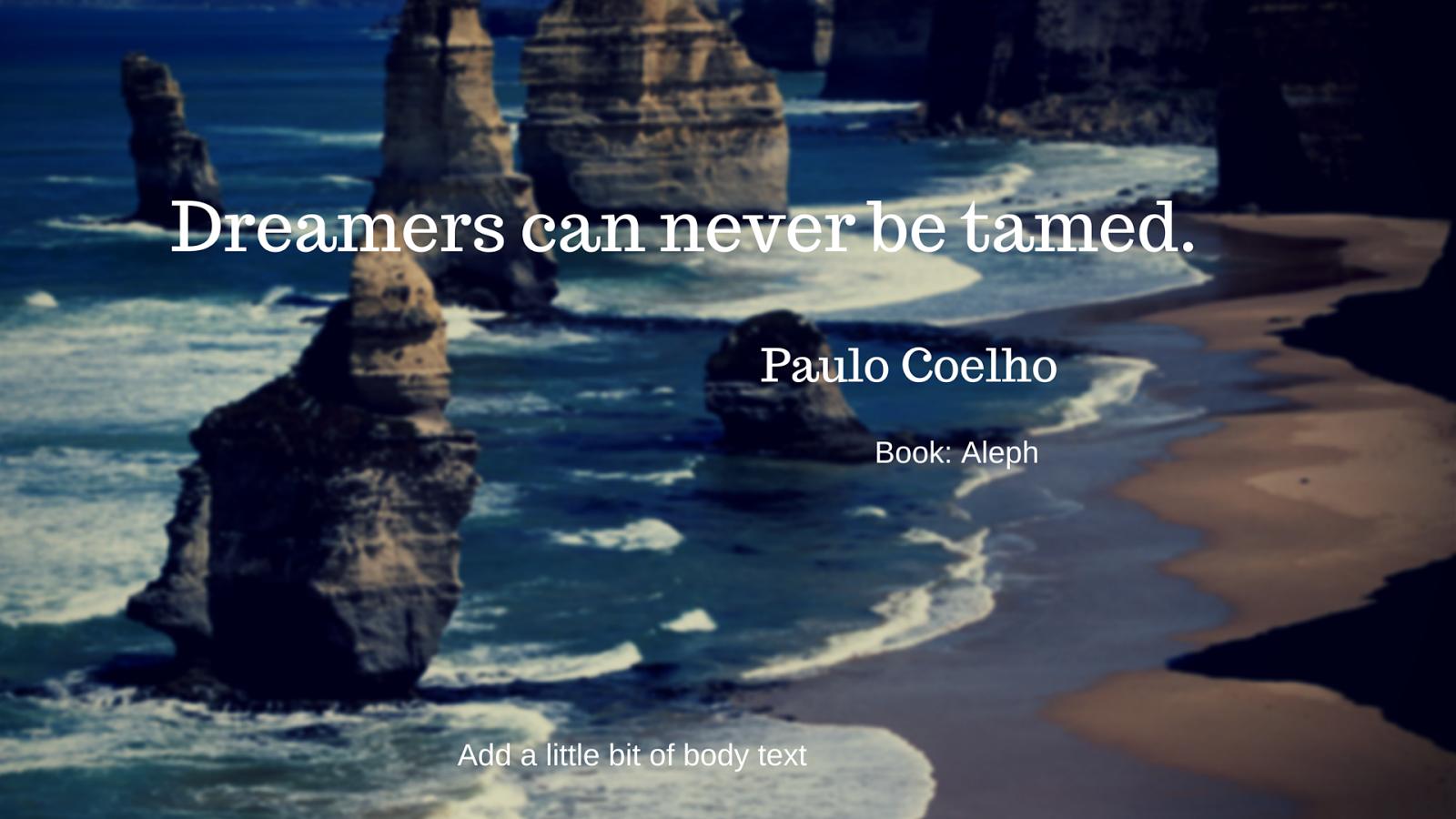 Aleph Paulo Coelho Quotes Quotesgram