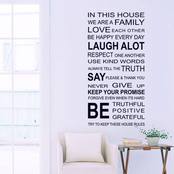 Living Room Wall Art Quotes. QuotesGram