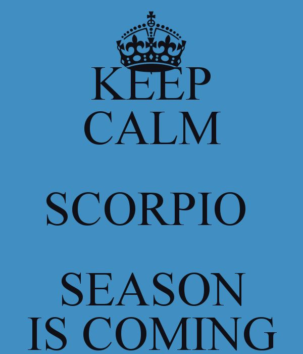 Scorpio Season Quotes Quotesgram