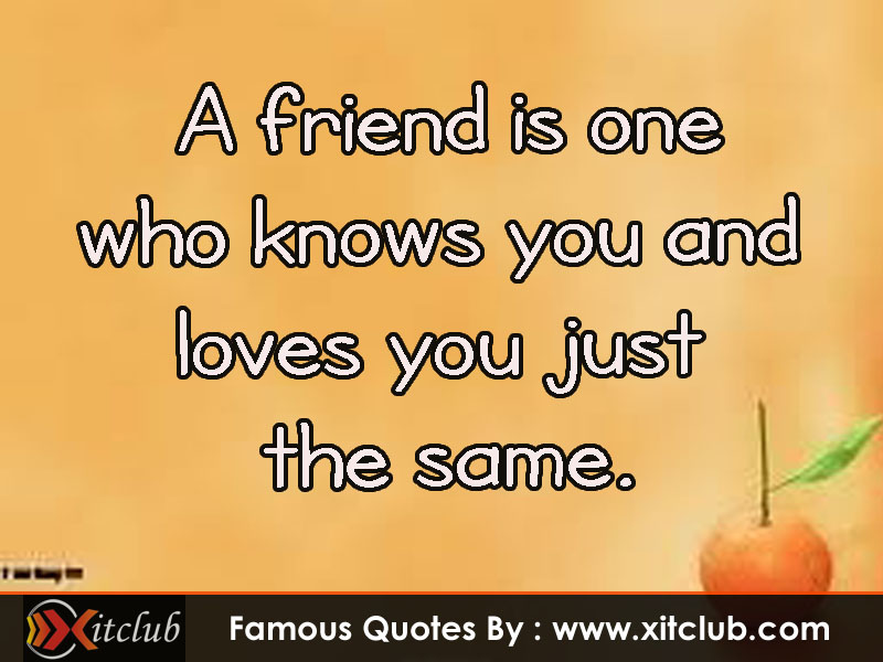 Most Famous Sayings About Friendship : Most famous quotes about friendship quotesgram