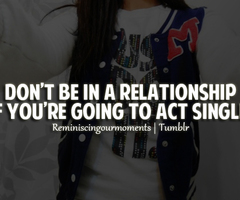 Single Girl Swag Quote...