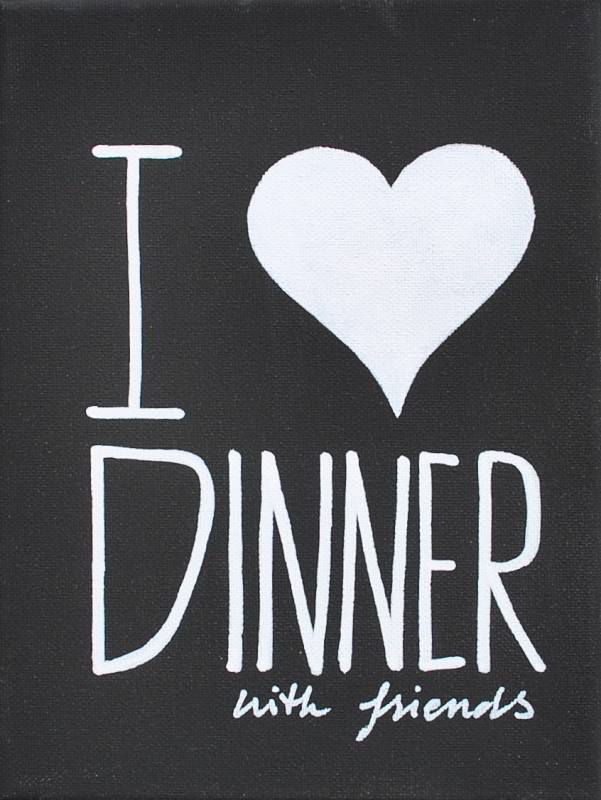 quotes about dinner with friends quotesgram. Black Bedroom Furniture Sets. Home Design Ideas