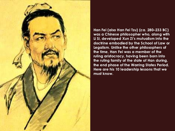 han fei tzu and the art Sun tzu represents the school of military his art of war discussed mostly  about war itself han feizi's book discussed about techniques of social  governance,.