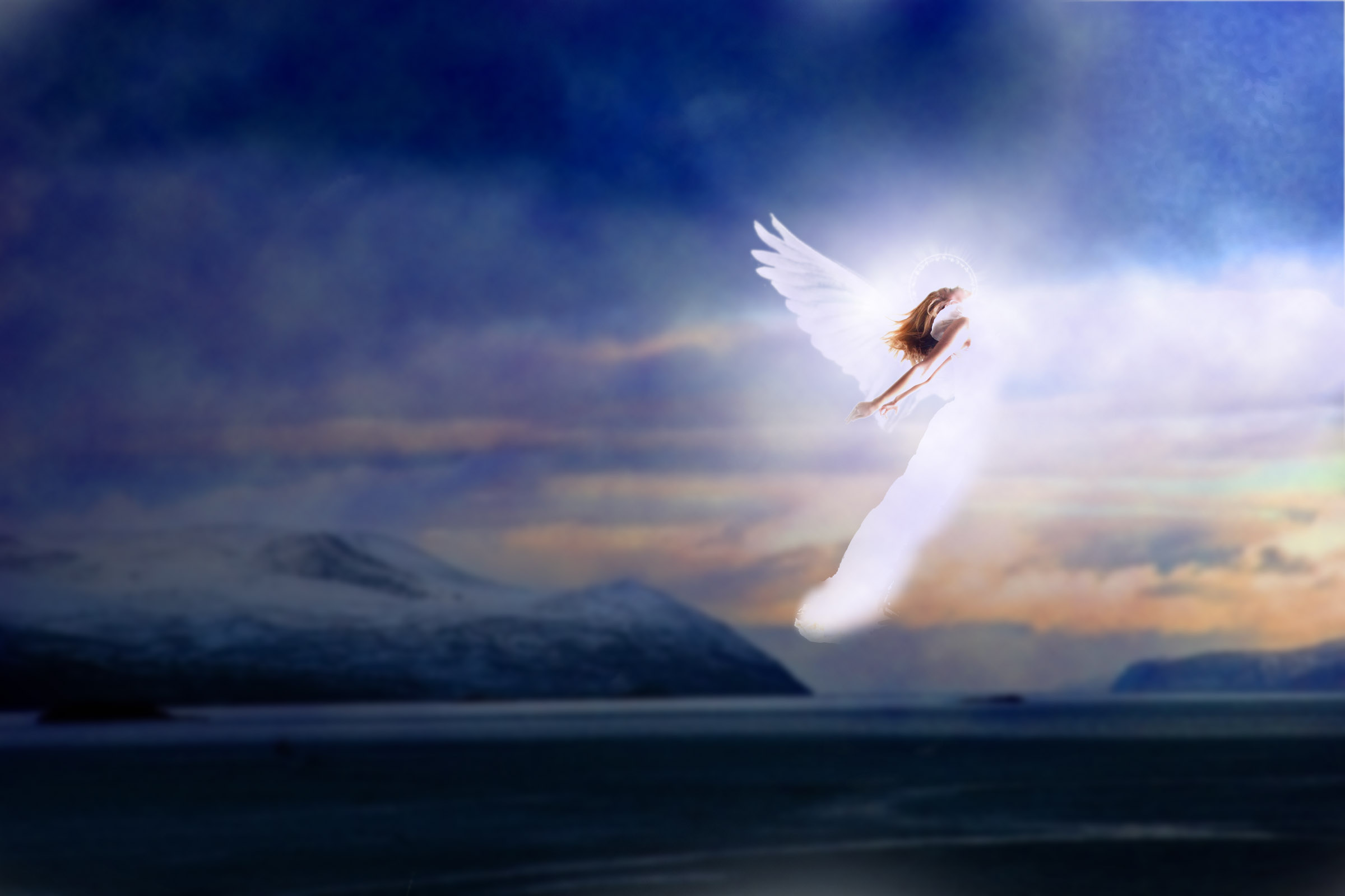 летящий ангел картинки очищения