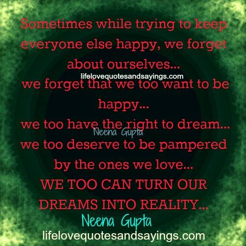 dream love quotes and sayings quotesgram