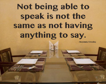 Inspirational Quotes For Speech Therapy. QuotesGram