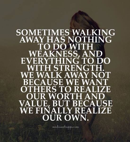 When To Walk Away Quotes: Quotes About Walking Away From Family. QuotesGram