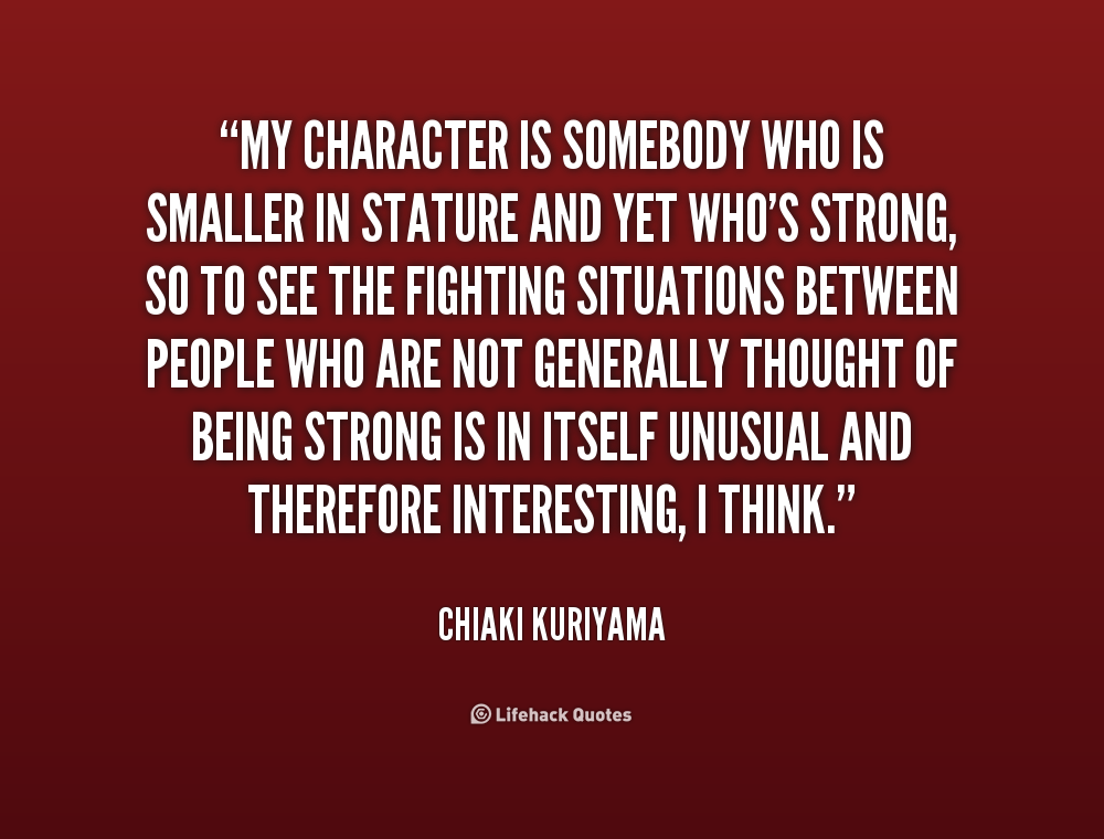 Strong Character Quotes. QuotesGram