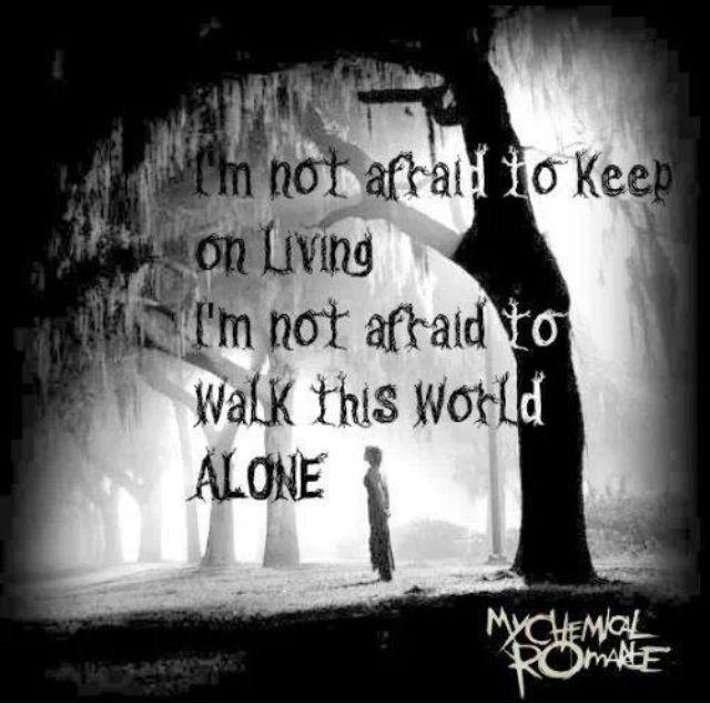 Sad Quotes About Depression: Black Parade Quotes. QuotesGram