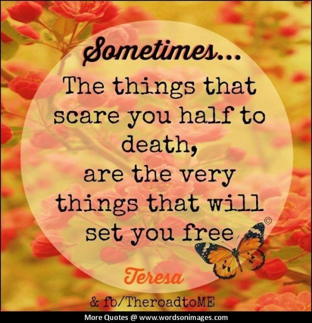 Inspirational Quotes About Failure: Overcoming Fear Quotes. QuotesGram