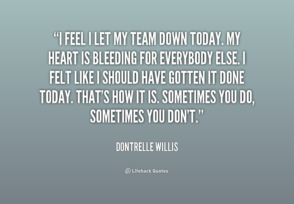 Family Lets You Down Quotes. QuotesGram