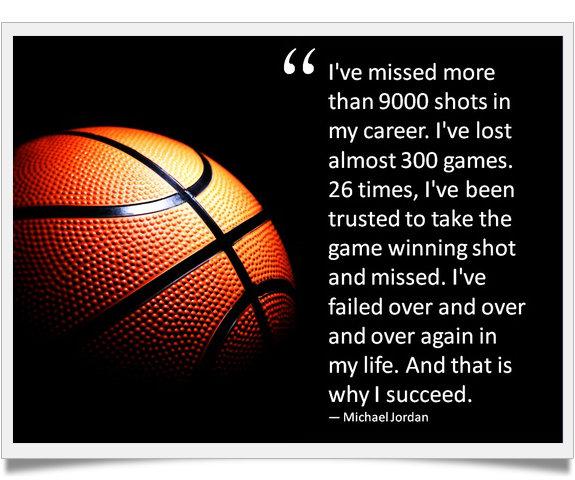 Inspirational Quotes About Failure In Sports: Michael Jordan Famous Failure Quotes. QuotesGram
