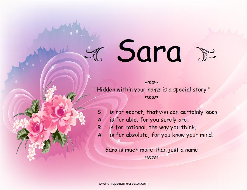 45+ Name sara vs sarah ideas