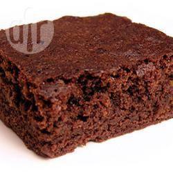 how to make sugarless chocolate brownies