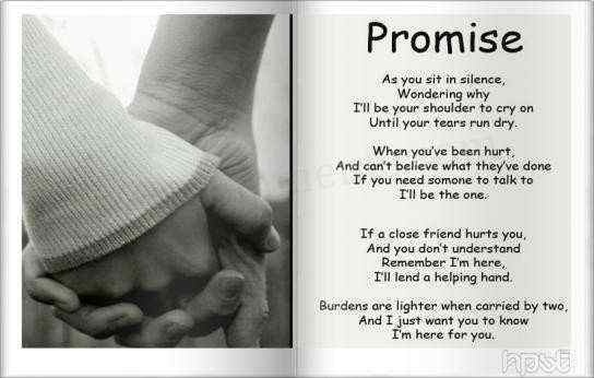 Quote – Grief Poetry  Love The Promise Poem