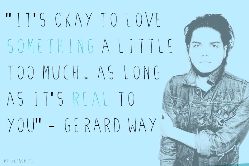 Gerard Way Quotes. QuotesGram