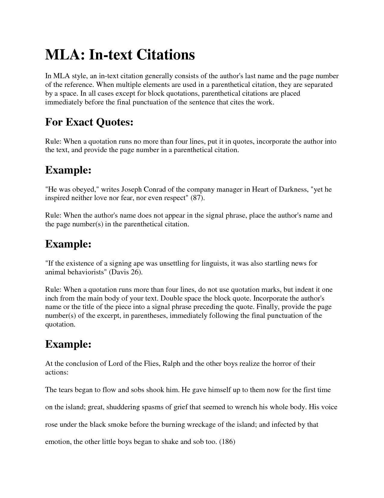 essay titles in quotes Learning to write an essay title in mla format is a necessary skill for any scholarly writer  follow the author's last name with the author's first name, the title of the essay in quotation marks, the title of the book or anthology in italics, the name of the editor, the place of publication, the publisher, the year it was published, the.