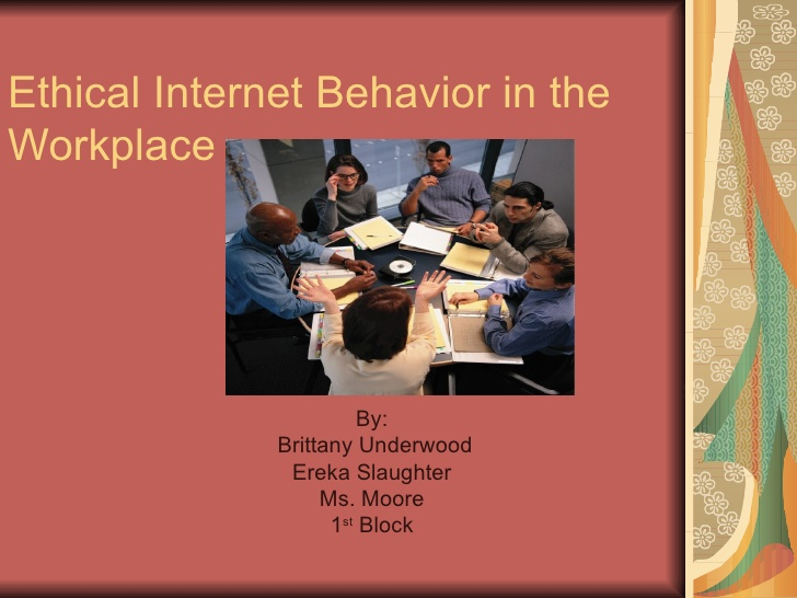 ethical behavior in workplace
