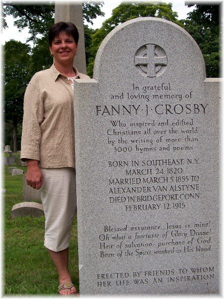 fanny crosby What do you know about fanny j crosby gospel hymn writer from the 1800s check out a great story of publication of saved by grace.
