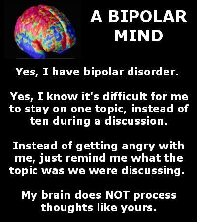 Bipolar Disorder Quotes And Sayings Quotesgram