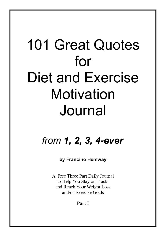 Inspirational Diet Quotes. QuotesGram