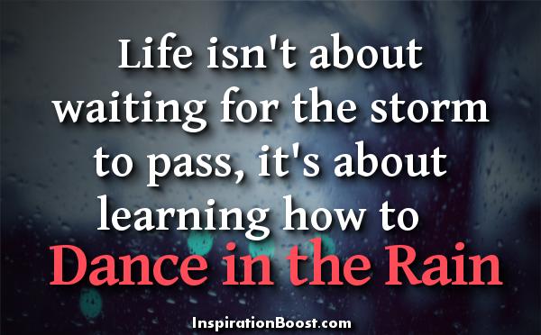 Dancing In The Rain Quotes Quotesgram