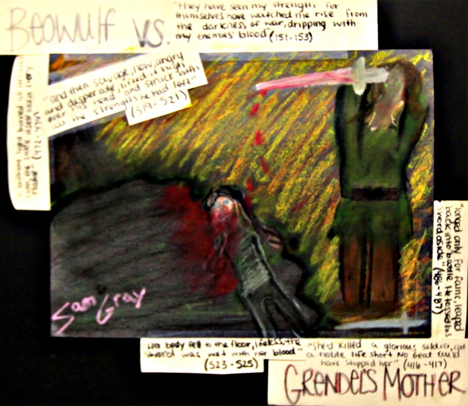 grendel vs beowulf essay example The fight is a perfect example of beowulf's strength and power grendel's mom grabs beowulf a lot and beowulf struggles to escape every time.