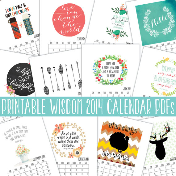 Quotes For Each Month Calendar. QuotesGram