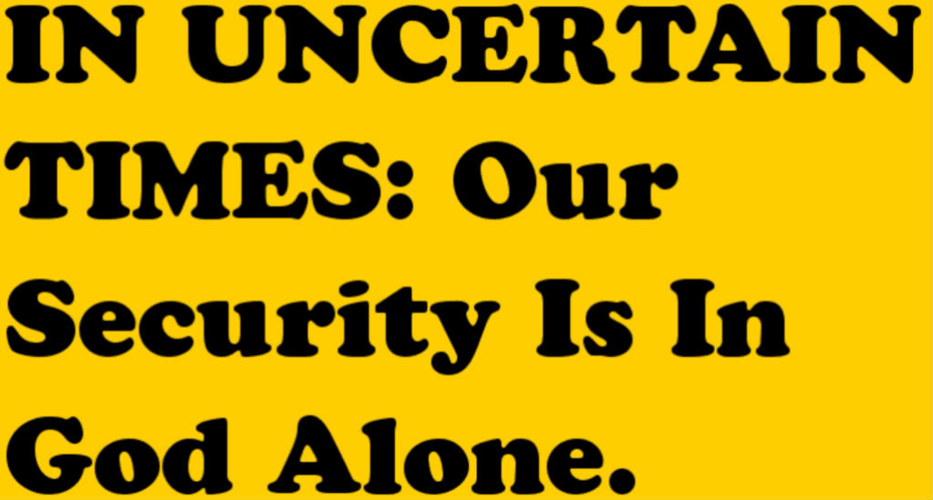 Quotes On God Of Security Quotesgram