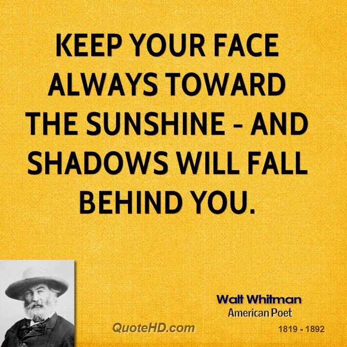 Keep your face always toward the sunshine and the shadows will fall behind you Bracelet Movie Quote Bracelets,Quote Jewelry quote Bracelet,Quote Bracelet