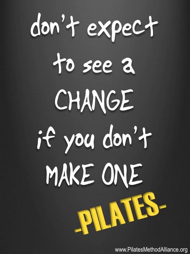 Pilates Motivational Quotes. QuotesGram