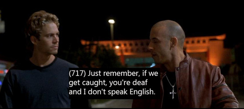 Quotes From Fast And Furious Paul Walker Quotesgram: Fast And Furious Brian Oconnor Quotes. QuotesGram