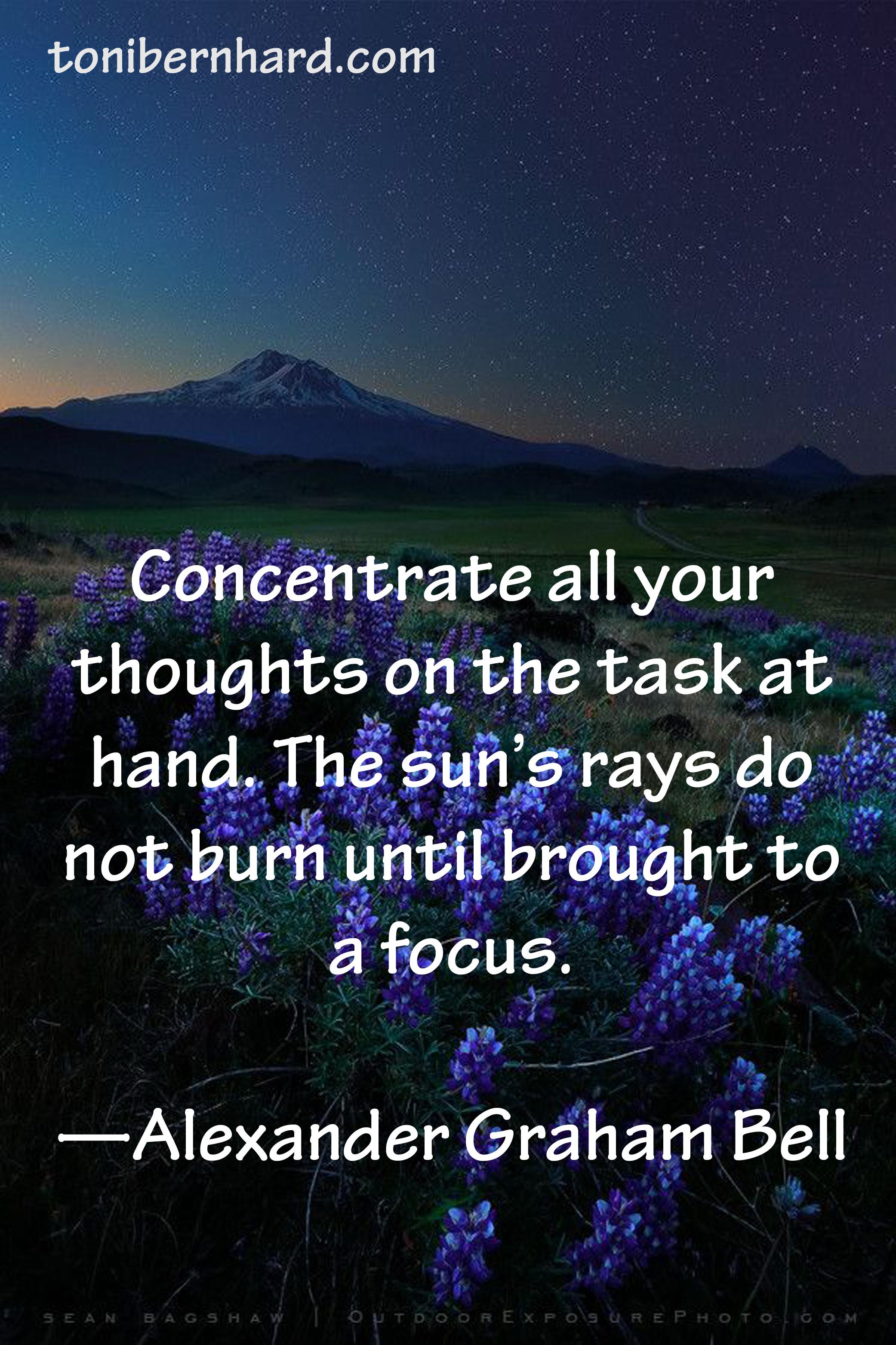 Focus On Task Quotes  Quotesgram