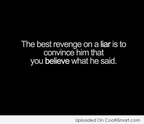 Liar a you quotes are We Were
