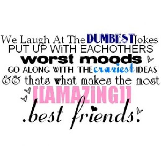 Birthday Quotes Funny Best Friend Quotesgram: Girlfriend Quotes Funny Best Friend. QuotesGram