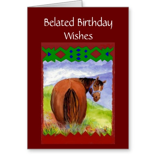 Funny Quotes For Her Birthday Quotesgram: Funny Belated Birthday Quotes. QuotesGram