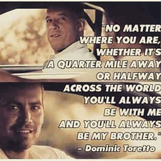 Furious 7 Brother Quotes Quotesgram