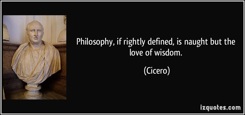 a personal opinion on the philosophy of life